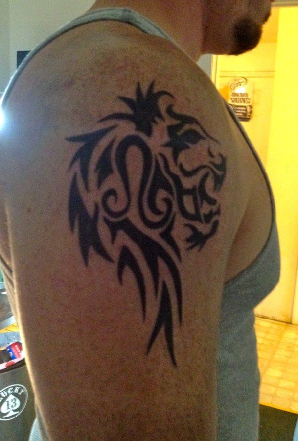 Coleccion Con 73 Tatuajes De Leones Valientes