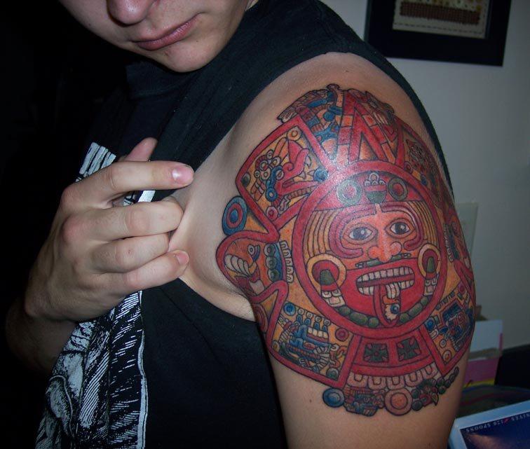 40 Imágenes Recientes Tatuajes Mayas