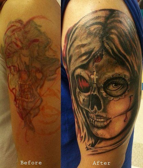 49 Tatuajes satánicos y diabólicos de la muerte