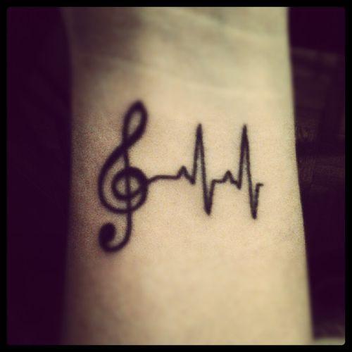 Diseños Actuales 55 Tatuajes De Música