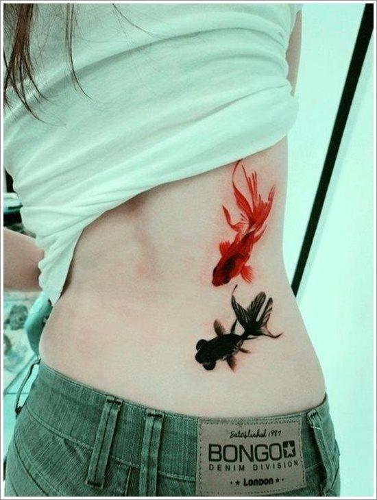 47 Tatuajes Con Peces Como Protagonistas