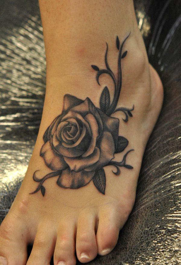190 Tatuajes Maravillosos Solo En El Pie
