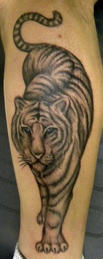 58 Diseños Con Tatuajes De Tigres