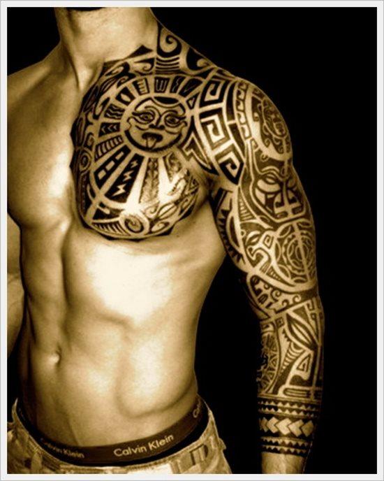 Tatuajes De Un Tribal Grande O Pequeño 150 Ejemplos