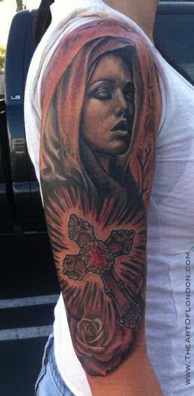 tatuaje virgen 12