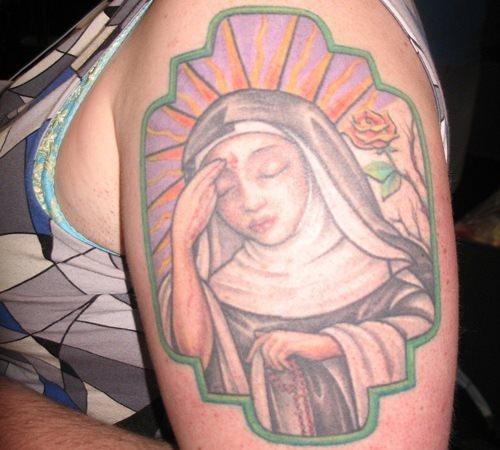 tatuaje virgen 14
