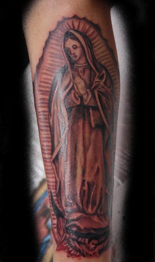tatuaje virgen 21