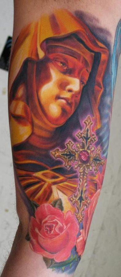 tatuaje virgen 30