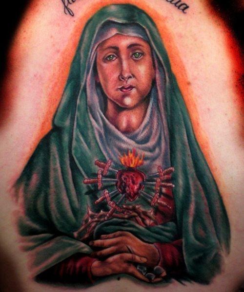 tatuaje virgen 33