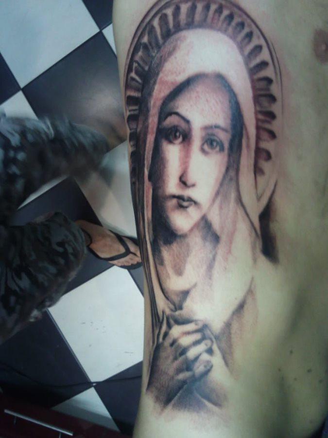 tatuaje virgen 41
