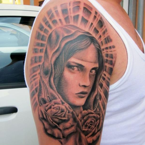 tatuaje virgen 43