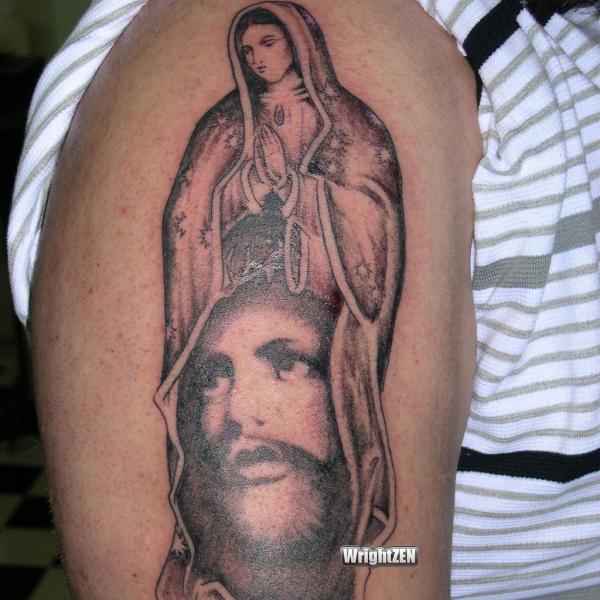 tatuaje virgen 49