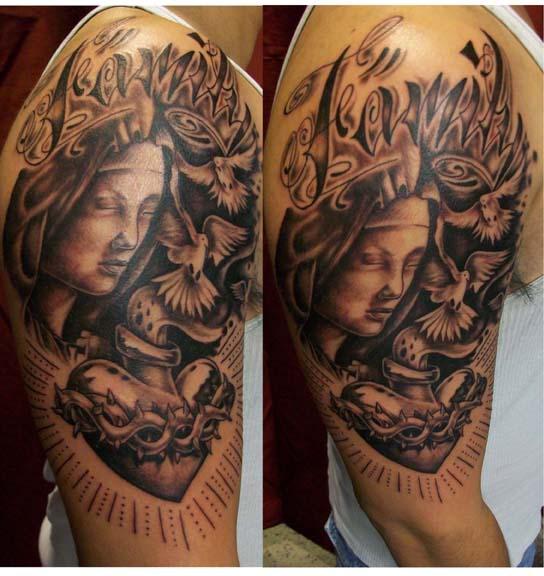 tatuaje virgen 59