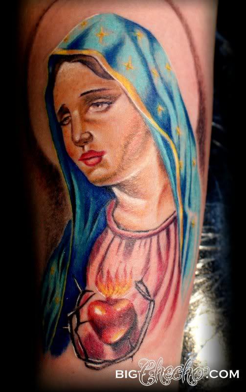 tatuaje virgen 60