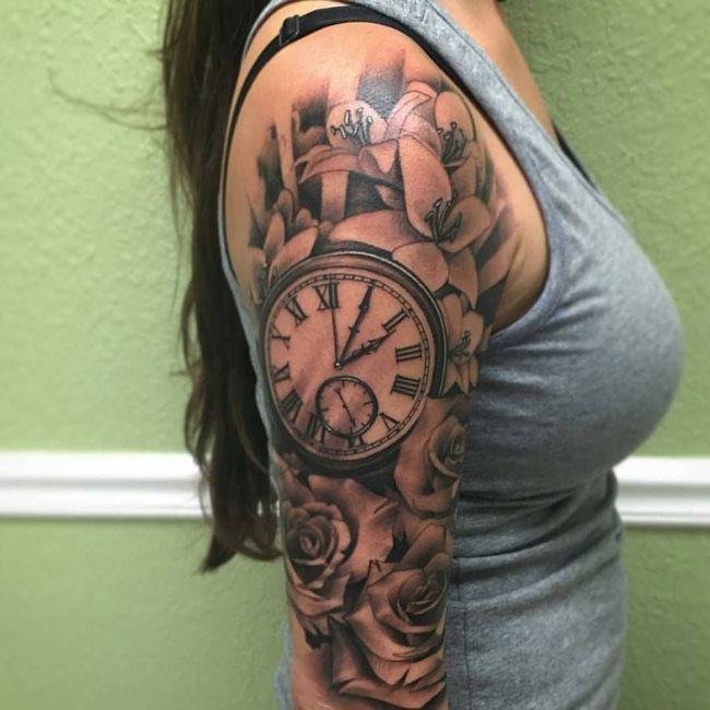 Significado de los 9 tatuajes de relojes más tatuados