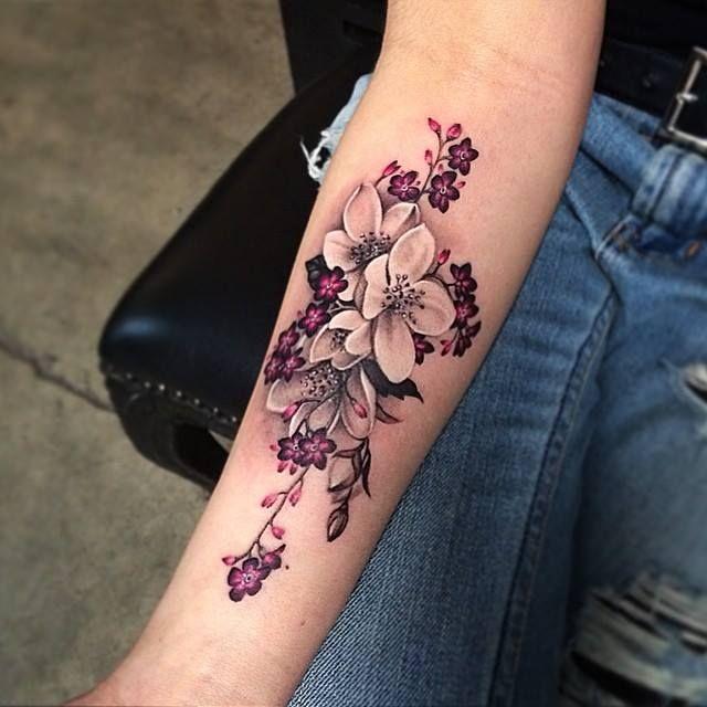 71 Tatuajes Con Todos Los Tipos De Flores