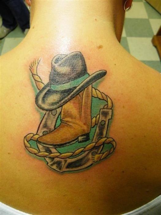 37 Tatuajes Del Viejo Oeste Sheriffs Estrellas Y Pistoleros