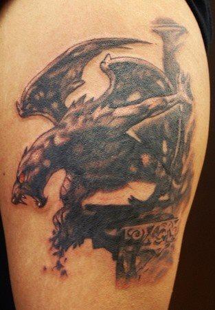 60 Tatuajes de gárgolas: Galería de imágenes