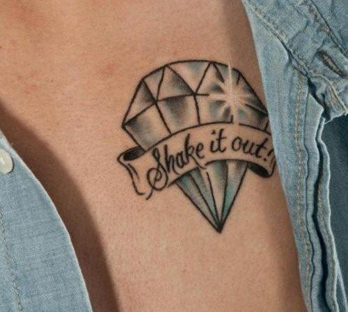 69 Tatuajes De Diamantes Y De Joyas Galería De Fotos