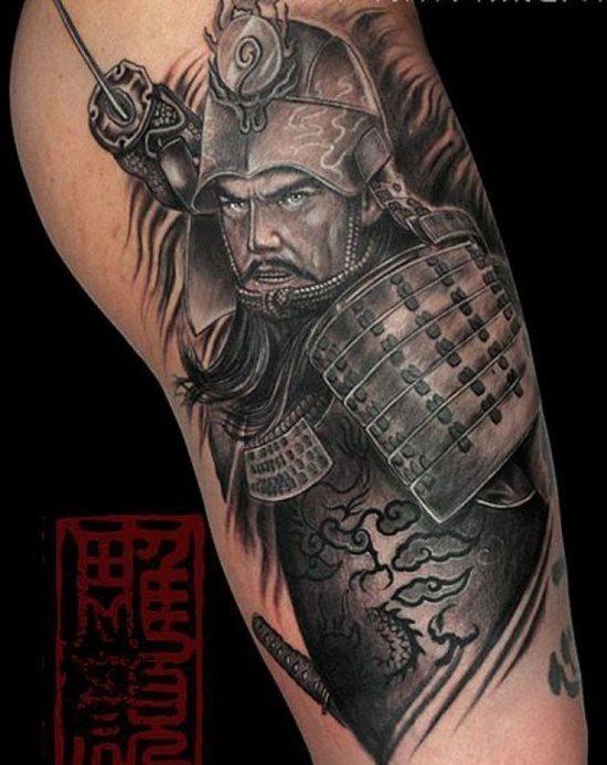 100 Tatuajes De Samurais O Guerreros Galeria De Imagenes