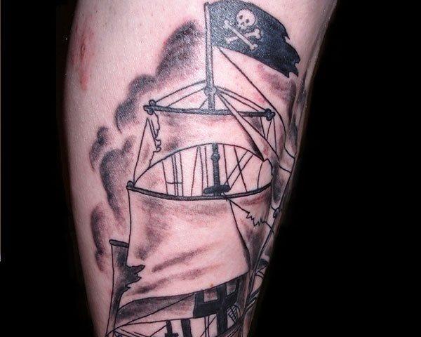 70 Tatuajes De Piratas Y Corsarios Galería De Imágenes