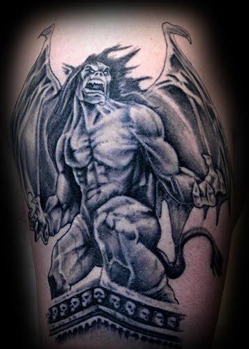 60 Tatuajes De Gárgolas Galería De Imágenes