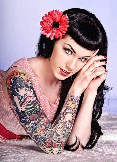 56 Tatuajes Pin Up Galería De Diseños
