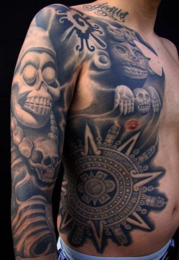 Tatuajes De Simbolos Aztecas Y Mayas Tatuajes Aztecas El