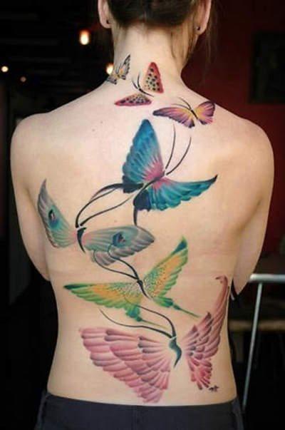 Tatuajes De Mariposas Galeria Con 78 Disenos