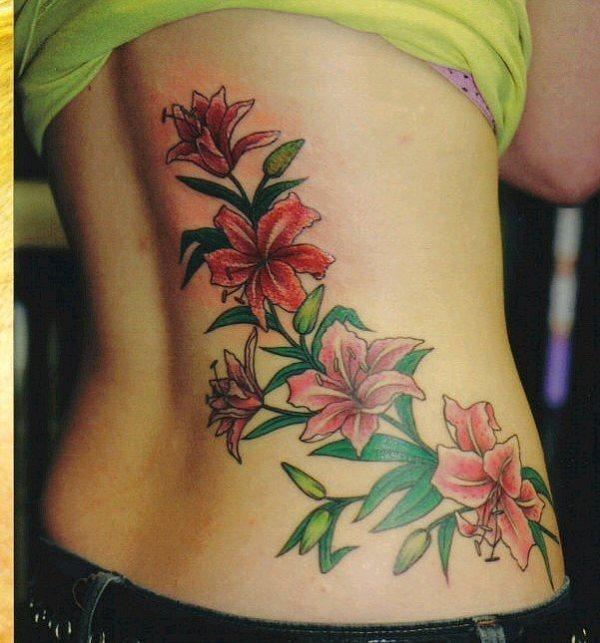 80 Tatuajes De Flores Bonitas Galería De Diseños