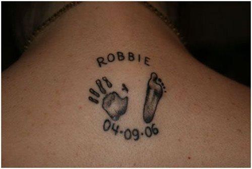 70 Tatuajes De Pisadas Y Huellas De Pies Galería