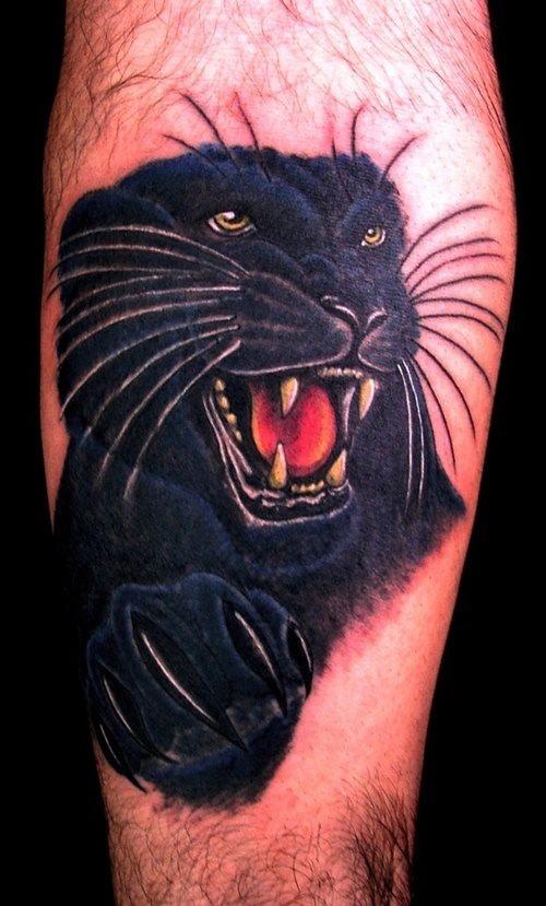 68 Tatuajes De Panteras Galería De Fotos