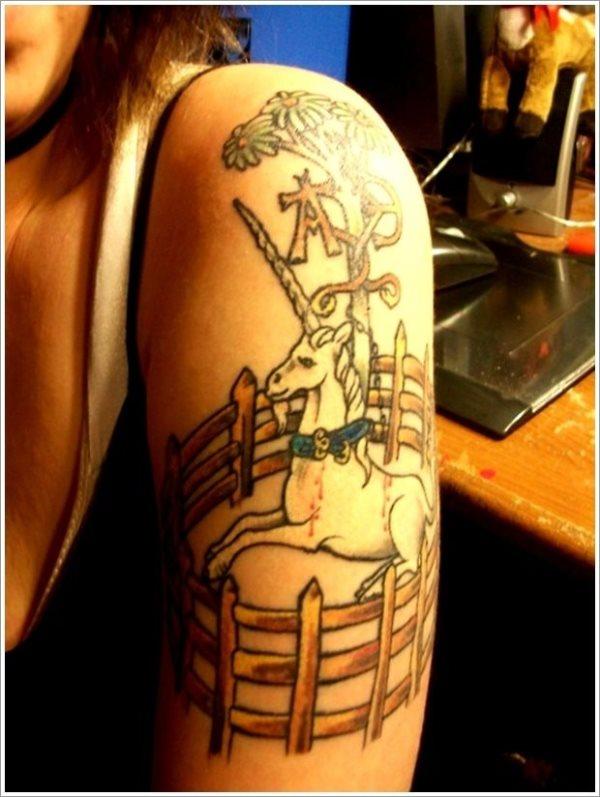 62 Tatuajes De Pequenos Unicornios Galeria De Imagenes
