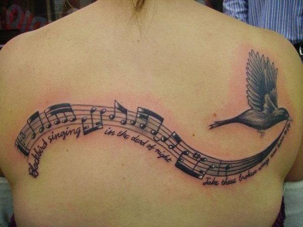 66 Tatuajes De Música Galería Con Símbolos Musicales