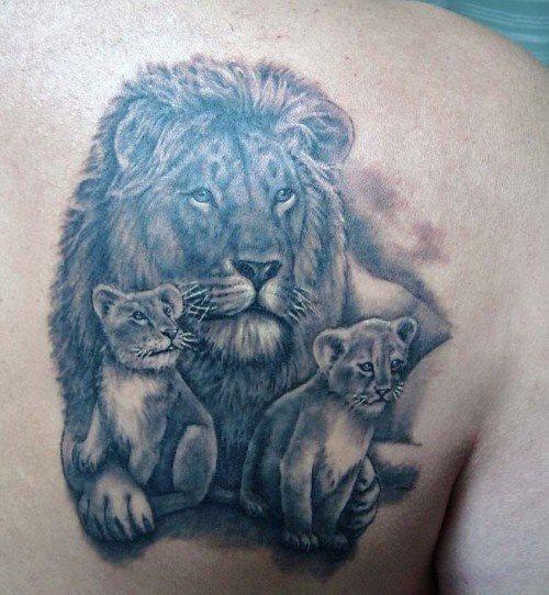87 Tatuajes De Leones Salvajes Galería De Fotos