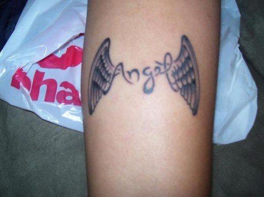 59 Tatuajes De Alas De ángel Galería De Imágenes
