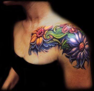 100 Tatuajes En El Hombro Para Mujeres Y Hombres Galería