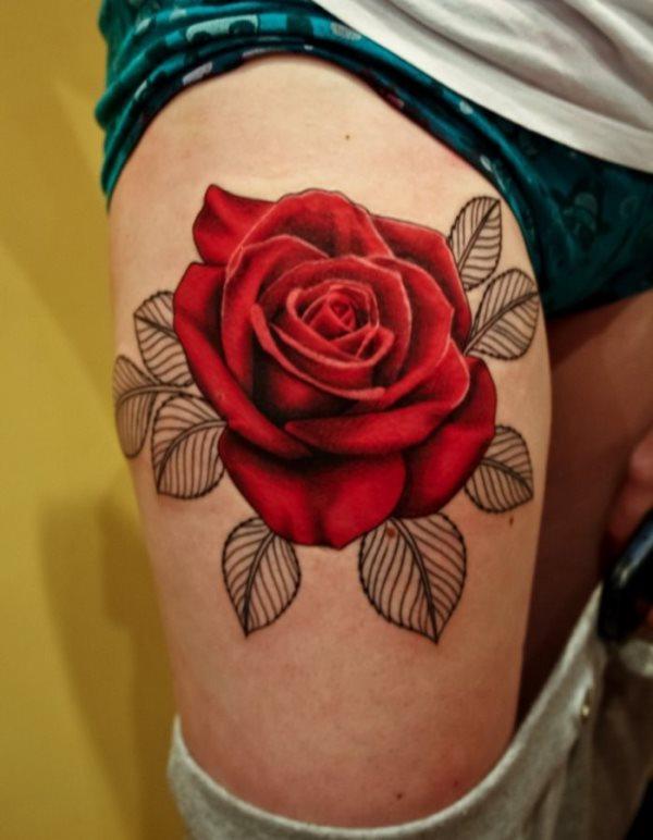 92 Tatuajes De Rosas Y Rosales Galería De Fotos