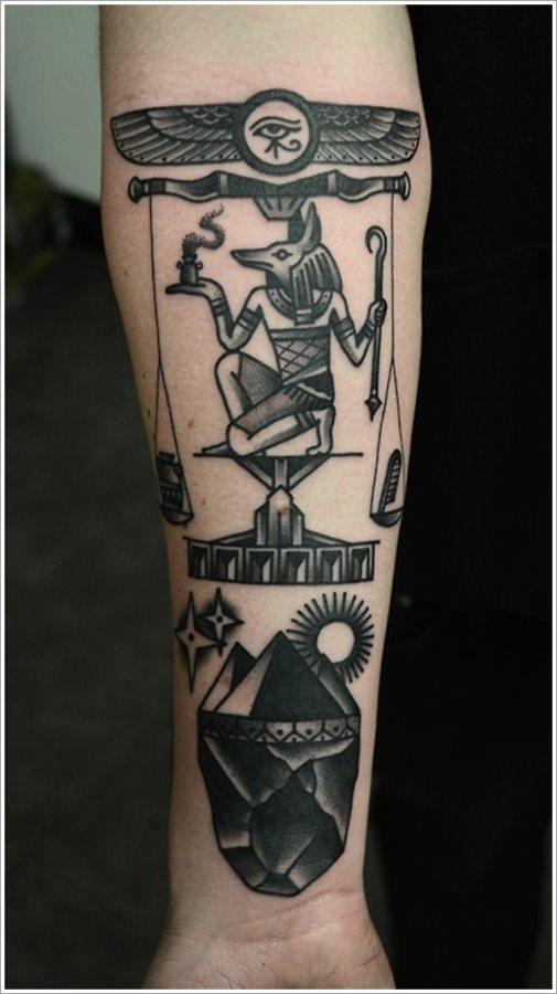 70 Tatuajes Egipcios Galería De Diseños Con Símbolos