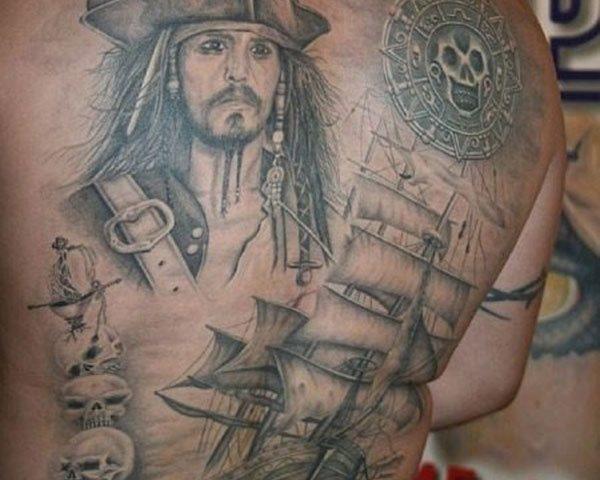 70 Tatuajes de piratas y corsarios: Galería de imágenes