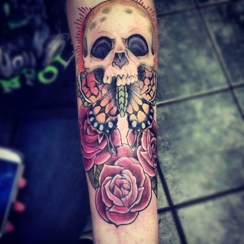 91 Tatuajes De Calaveras Y Craneos Galeria De Disenos