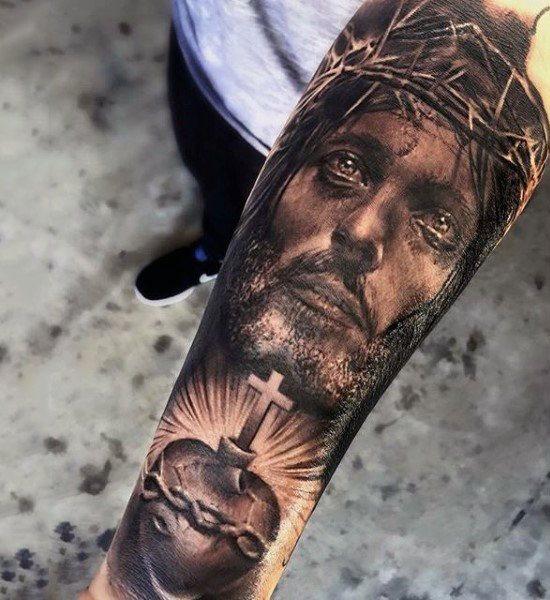 83 Tatuajes Bíblicos Con Diseños De Jesucristo