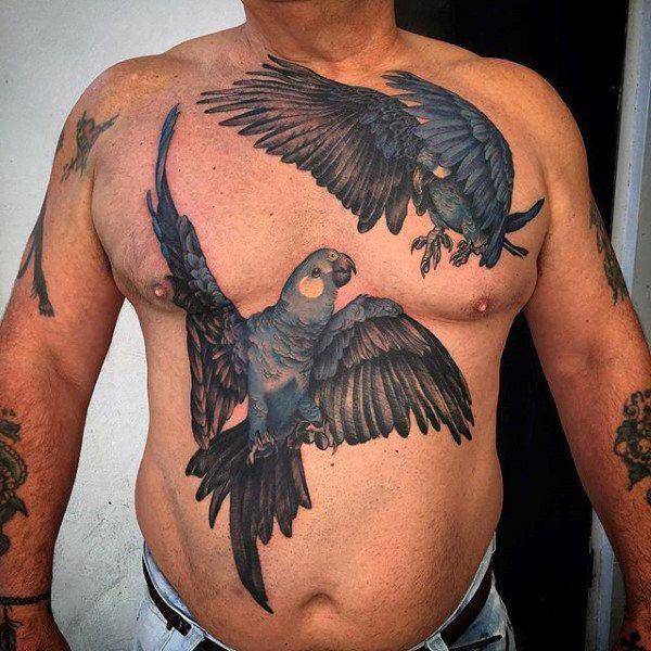 53 Tatuajes Ingeniosos En El Abdomen Algunos Pequeños