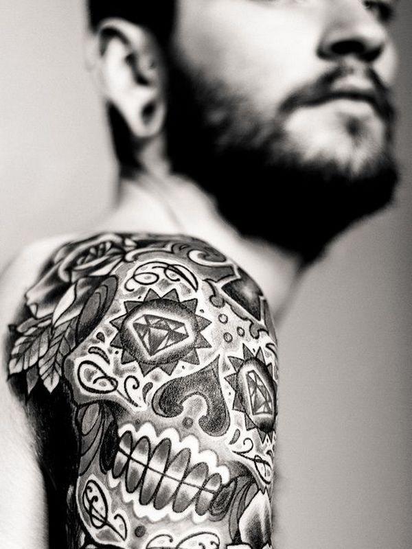 87 Tatuajes De Calaveras O Cabezas Oseas
