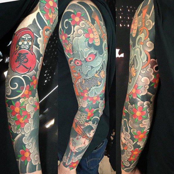 Tatuajes De Oriente 200 Disenos Japoneses