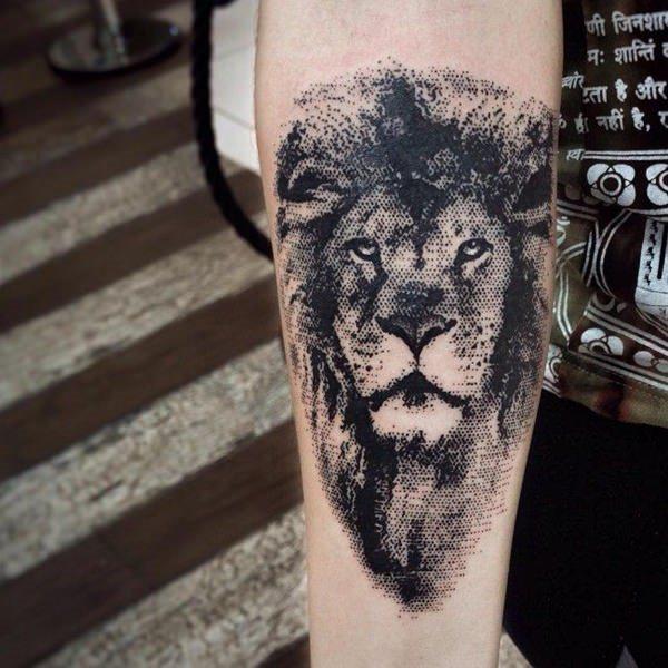 Colección Con 73 Tatuajes De Leones Valientes