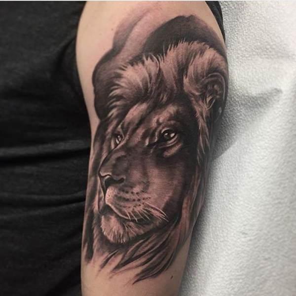87 Tatuajes De Leones Salvajes Galeria De Fotos