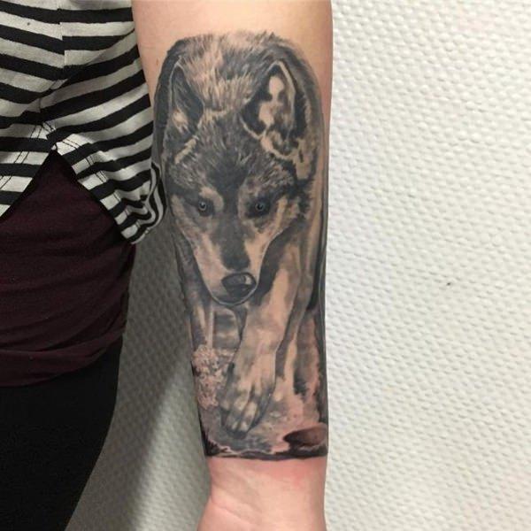 91 Tatuajes De Lobos Galeria De Disenos