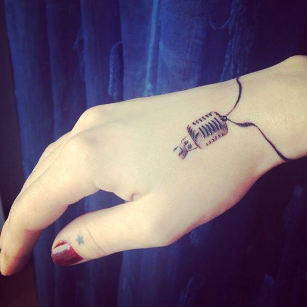 Disenos Actuales 55 Tatuajes De Musica