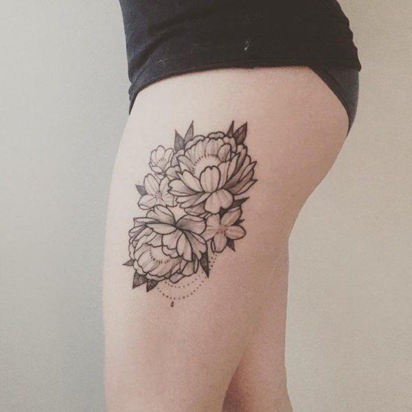 64 Tatuajes Perfectos Para Los Muslos Y La Pierna